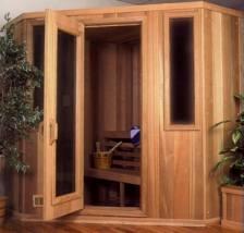 6x6 Cut Corner Sauna