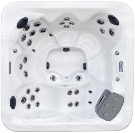 ml 736 model spa from hydro spa rh almostheaven net La Spas Hot Tub Manual Hot Tub Tips