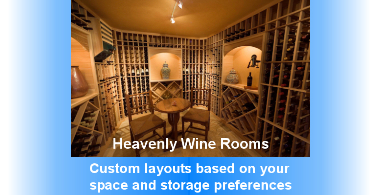 Heavenly Wine Rooms, Wine Racking, Wine Coolers and Wine Furniture